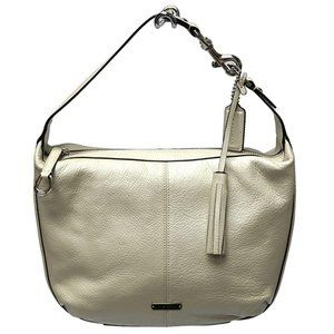 Coach Shoulder Avery Pearl Pebbled 23960 Purse